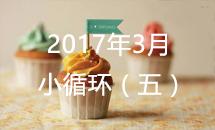 2017年3月道场循环5【3.13~3.15】