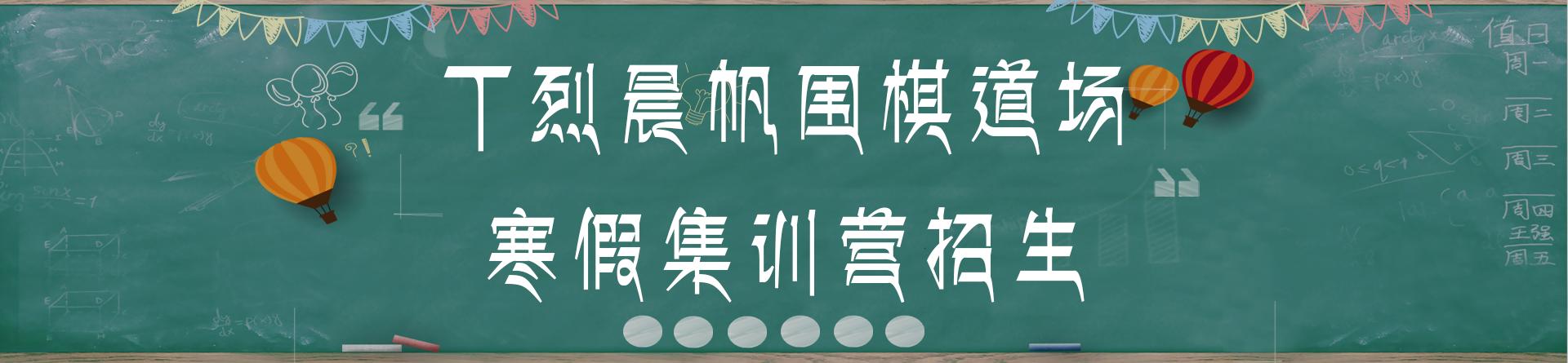 丁烈晨帆围棋道场第七届寒期集训营