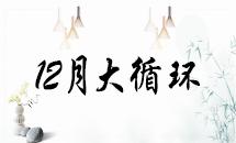 2018年12月大循环第13轮名次表