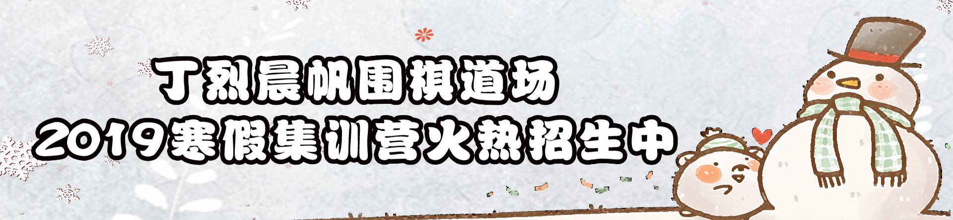 丁烈晨帆围棋道场2019年寒假集训